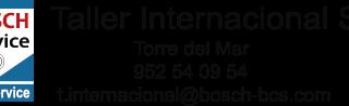 Taller Internacional Bosch Torre del Mar